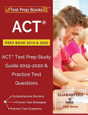 ACT Prep Book 2019   2020