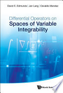 Differential Operators on Spaces of Variable Integrability