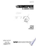 Into the Thermosphere  The Atmosphere Explorers