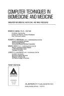 Computer Techniques in Biomedicine and Medicine Book
