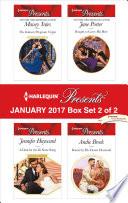 Harlequin Presents January 2017 Box Set 2 Of 2