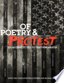 Of Poetry and Protest  From Emmett Till to Trayvon Martin