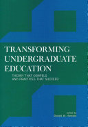 Transforming Undergraduate Education