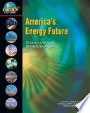 America s Energy Future Book