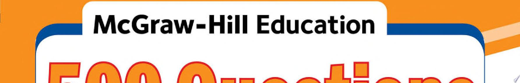 McGraw Hill Education 500 Evolve Reach  HESI  A2 Questions to Know by Test Day