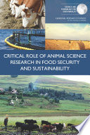 Critical Role of Animal Science Research in Food Security and Sustainability