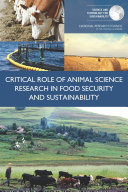 Critical Role of Animal Science Research in Food Security and Sustainability [Pdf/ePub] eBook