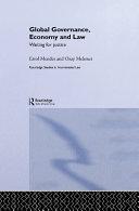 Global Governance  Economy and Law