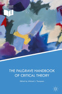 Pdf The Palgrave Handbook of Critical Theory Telecharger