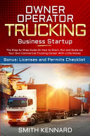 Owner Operator Trucking Business Startup