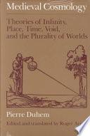 Medieval Cosmology Online Book