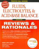 Fluids Electrolytes And Acid Base Balance Book PDF
