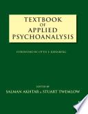 Textbook of Applied Psychoanalysis