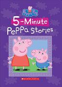 Five Minute Peppa Stories  Peppa Pig