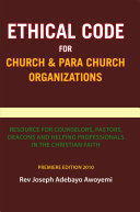 Ethical Code for Church and Para Church Organizations