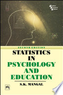 Statistics In Psycholohy And Education Book PDF