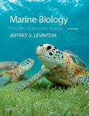 Cover of Marine Biology