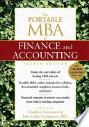 """""""The Portable MBA in Finance and Accounting"""" by Theodore Grossman, John Leslie Livingstone"""