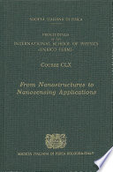 From Nanostructures to Nanosensing Applications Book