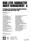 High Level Radioactive Waste Management