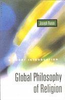 Global Philosophy of Religion