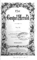 The Gospel herald  or  Poor Christian s magazine