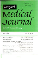 Lawyer s Medical Journal