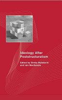 Ideology After Poststructuralism