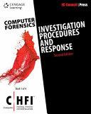 Computer Forensics: Investigation Procedures and Response (CHFI)
