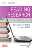 Reading Research Fifth Canadian Edition E Book