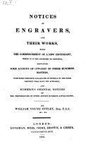 Pdf Notices Of Engravers, And Their Works, Being The Commencement Of A New Dictionary ... Containing Some Account Of Upwards Of 300 Masters