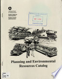 Planning And Environmental Resources Catalog