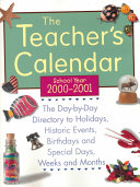 The Teacher s Calendar  School Year 2000 2001
