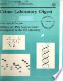 Crime Laboratory Digest