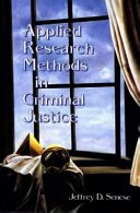 Applied Research Methods in Criminal Justice