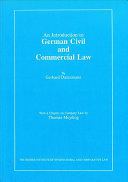 An Introduction to German Civil and Commercial Law