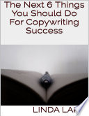 The Next 6 Things You Should Do For Copywriting Success Book
