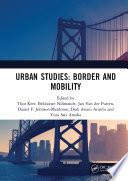 Urban Studies Border And Mobility