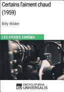 Certains l'aiment chaud de Billy Wilder