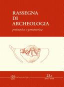 Rassegna di Archeologia, 23/A, 2007-2008 - preistorica e protostorica Pdf/ePub eBook