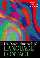The Oxford Handbook of Language Contact [Pdf/ePub] eBook