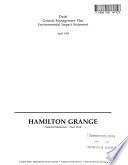 Hamilton Grange National Memorial General Management Plan (GMP)