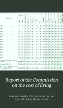 Report of the Commission on the Cost of Living