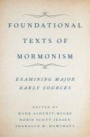 Foundational Texts of Mormonism Pdf/ePub eBook