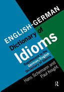 Pdf English/German Dictionary of Idioms