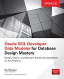 Pdf Oracle SQL Developer Data Modeler for Database Design Mastery Telecharger
