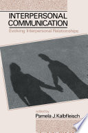 Interpersonal Communication Book PDF
