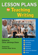 Lesson Plans for Teaching Writing