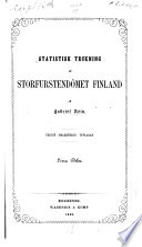 Statistisk teckning af storfurstendömet Finland