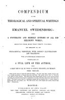 A Compendium of the Theological and Spiritual Writings of Emanuel Swedenborg